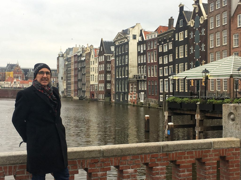 Andrew in Amsterdam